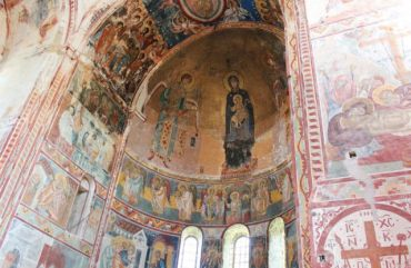 Frescos at the Church of the Virgin at Gelati